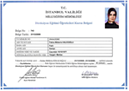surus egitmeni sertifika