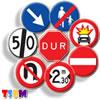trafik tehlike uyarı işaretleri