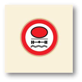 trafik tanzim işaretleri belirli bir miktardan fazla su kirletici madde taşiyan giremez