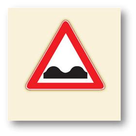trafik tehlike uyarı işaretleri kasisli yol