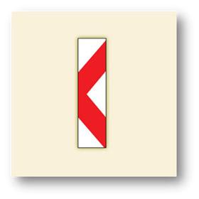 trafik tehlike uyarı işaretleri onarım levhası