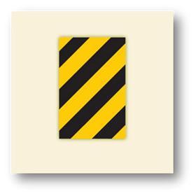 trafik tehlike uyarı işaretleri refüj başı ek levhası