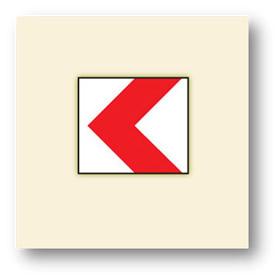trafik tehlike uyarı işaretleri tehlikeli viraj yön levhası