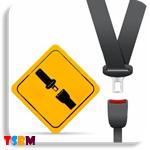 Direksiyon dersi-sürüş güvenliği, emniyet kemeri