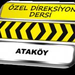 Ataköy özel direksiyon dersi TSBM