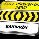 Özel direksiyon dersi Bakırköy TSBM
