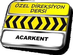 ozel direksiyon dersi Acarkent