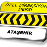 Özel direksiyon dersi Ataşehir TSBM