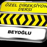 Beyoğlu özel direksiyon dersi TSBM