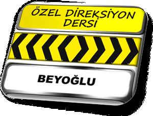 ozel direksiyon dersi Beyoğlu