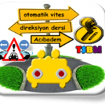 Otomatik vites direksiyon dersi Acıbadem-TSBM