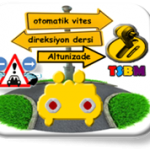 Altunizade otomatik vites direksiyon dersi-TSBM