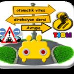 Avrupa yakası otomatik vites direksiyon dersi-TSBM
