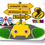 Başakşehir otomatik vites direksiyon dersi-TSBM