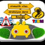 Beyoğlu otomatik vites direksiyon dersi-TSBM
