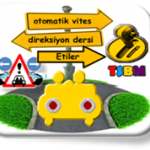 Etiler otomatik vites direksiyon dersi-TSBM