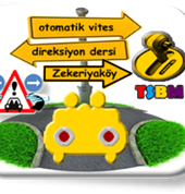 Otomatik vites direksiyon dersi Zekeriyaköy TSBM