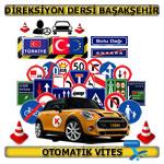 Direksiyon dersi Başakşehir otomatik vites TSBM