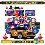 Direksiyon dersi Zeytinburnu otomatik vites TSBM